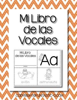 MI LIBRO DE LAS VOCALES