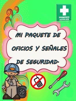 MI PAQUETE DE OFICIOS Y SEÑALES DE SEGURIDAD