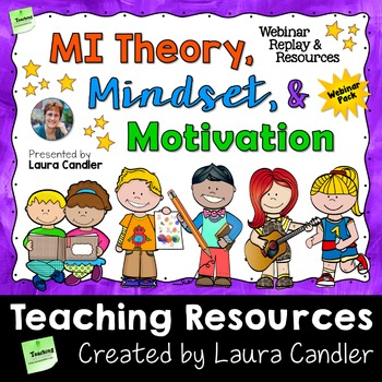 MI Theory and Growth Mindset Webinar Pack