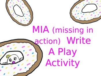 MIA Write A Play-Drama Activity