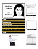 MICHAEL JACKSON: Flip Book - Research Project