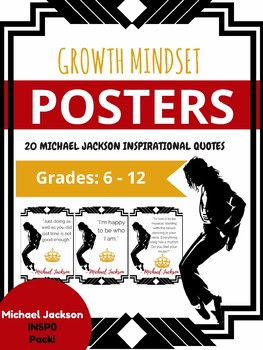 MICHAEL JACKSON King Pop Music Growth Mindset Motivational