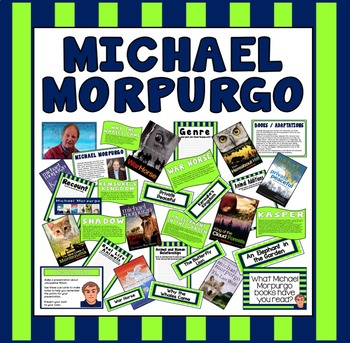 MICHAEL MORPURGO TEACHING AND DISPLAY RESOURCES -ENGLISH READING KS2 AUTHOR