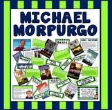 MICHAEL MORPURGO TEACHING AND DISPLAY RESOURCES -ENGLISH READING KS2 AUTHOR