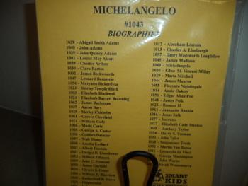 MICHELANGELO  #1043