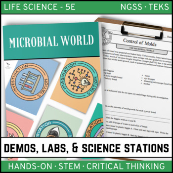 MICROBIAL WORLD - Demos, Labs and Science Stations