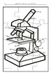 MICROSCOPE PUZZLE  AND LABEL ACTIVITY