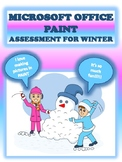 MICROSOFT OFFICE PAINT ASSESSMENT FOR WINTER
