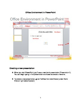 MICROSOFT POWER POINT 2010 QUICK STEPS