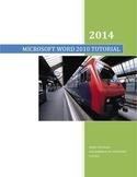 MICROSOFT WORD 2010 QUICK STEPS