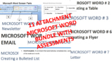 MICROSOFT WORD BUNDLE – Activities and Assessments