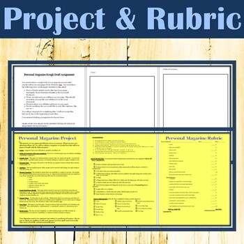 MICROSOFT WORD & EXCEL - 14 Page Magazine Project