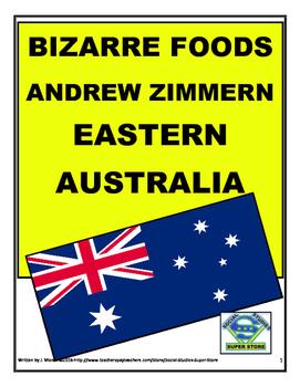 MIDDLE SCHOOL-Bizarre Foods video guide - Eastern Australia