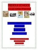 MIDDLE SCHOOL CCSS RL 6.2, 7.2, 8.2 THEME, CENTRAL IDEA, SUMMARY - LITERATURE
