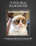 Middle School ELA Handbook (everything you need for the year!)
