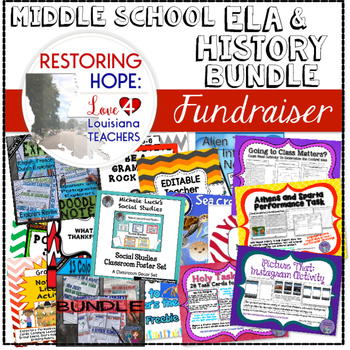 MIDDLE SCHOOL ELA/SOCIAL STUDIES BUNDLE