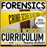 MIDDLE SCHOOL FORENSICS CURRICULUM- Print & Digital