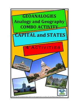 MIDDLE SCHOOL - GEOANALOGIES Capital and States