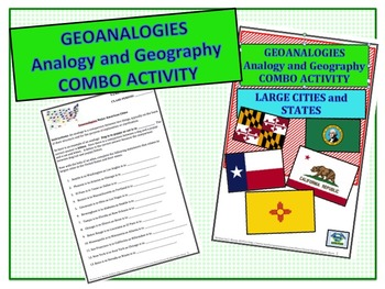 MIDDLE SCHOOL - GEOANALOGIES Large cities and states