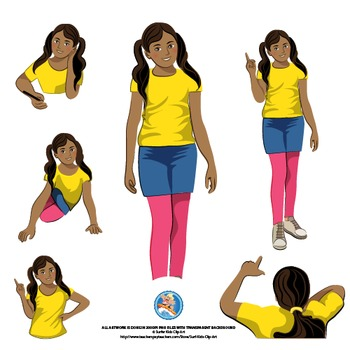 MIDDLE SCHOOL KIDS | BOY AND GIRL | GRADE 5 | AFRICAN AMERICAN KIDS