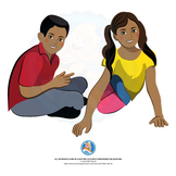 MIDDLE SCHOOL KIDS | BOY AND GIRL | GRADE 5 | AFRICAN AMER