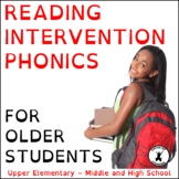 MIDDLE SCHOOL READING COMPREHENSION Intervention fluency p