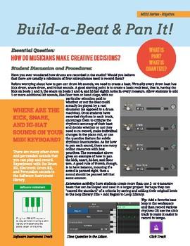 "MIDI Series: Rhythm - ""Build-a-Beat and Pan It!"""