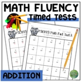 Math Facts Fluency Timed Tests