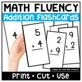 Mental Math Kindergarten Addition Flashcards