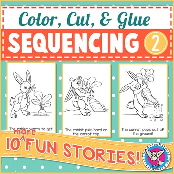 Sequencing 2: Color, Cut & Glue