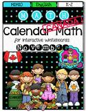 MIMIO Calendar Math- November CANADA VERSION (English)