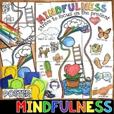 MINDFULNESS ACTIVITIES, COLLABORATIVE POSTER, WRITING PROMPTS, WORK TOGETHER!