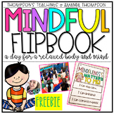 MINDFULNESS FLIPBOOK ACTIVITY FREEBIE