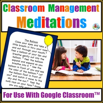 MINDFULNESS FOR CLASSROOM MANAGEMENT