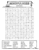 MINDFULNESS - Word Search Puzzle (Meditation, Mindfulness