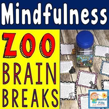 The MINDFULNESS Zoo: Brain Break Movement Cards