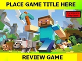 MINECRAFT Review Game POWERPOINT