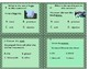 MINECRAFT theme  Parts of Speech -4 POSTERS & 12 TASK CARDS