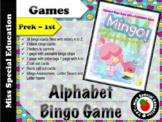 MINGO! Flamingo! - Bingo Game - Alphabet - A to Z - FLAMIN