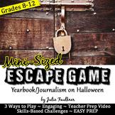 MINI Escape Game Break Out Box Activity, Halloween Activit