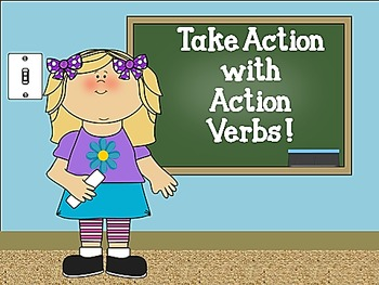 Take Action With Action Verbs