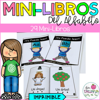 MINI LIBROS DEL ALFABETO/ SPANISH ALPHABET MINI BOOKS