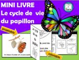 MINI LIVRE - Le cycle de vie du papillon - FRENCH FSL FLI