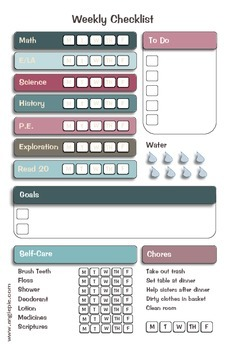 MINI Lesson Planner/Organizer Bundle in Floral