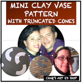 MINI SLAB CLAY VASE