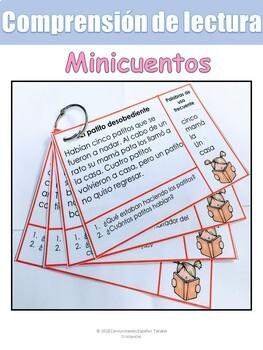 MINICUENTOS/ COMPRENSIÓN DE LECTURA
