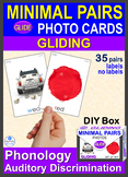 MINIMAL PAIRS Gliding Photo Cards w-l y-l w-r Phonology