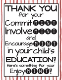 MINT Poster - For Parent Night/Open House