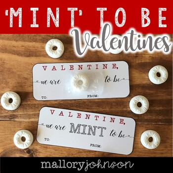 MINT TO BE Valentine's Day Cards