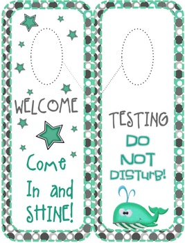 MINT and GRAY OCEAN THEME CLASSROOM SET UP AND DECOR